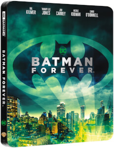 Batman Forever 4K UHD (incluye Blu-ray 2D) - Steelbook Edición Limitada Exclusivo Zavvi