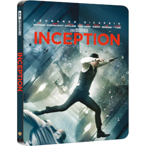 Inception - 4K Ultra HD Zavvi UK Exclusive Steelbook (Includes 2D Blu-ray)