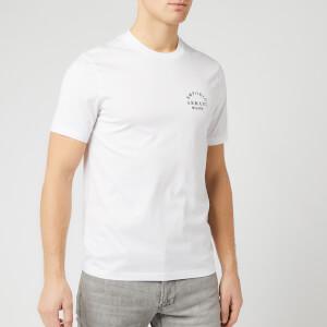 Emporio Armani Men's Large Back Logo T-Shirt - White