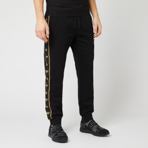 Emporio Armani Men's Logo Seam Sweatpants - Black