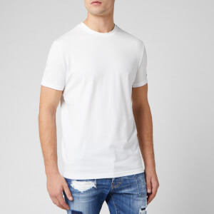 Dsquared2 Men's Maple Logo Crew T-Shirt - White