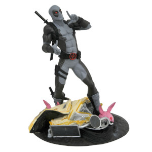 Statuette Deadpool et camion à tacos, Marvel Gallery X-Force, Édition exclusive SDCC 2019 – Diamond Select