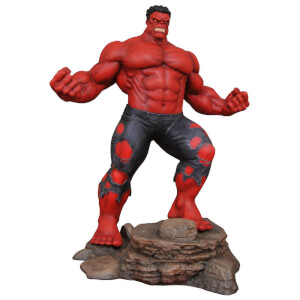 Statua di Hulk Rosso, Marvel Gallery - Diamond Select