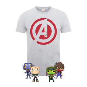 Pack Camiseta Marvel vs Capcom - Equipo Marvel