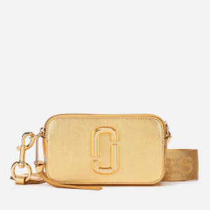Marc Jacobs Women's Snapshot DTM Bag - Metallic/Gold