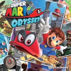 Super Mario Odyssey Calendar 2020