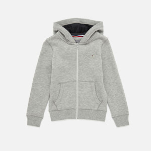 Tommy Kids Boys' Essential Zip Up Hoody - Grey Heather