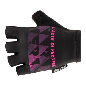 Santini Maglia Nera Gloves