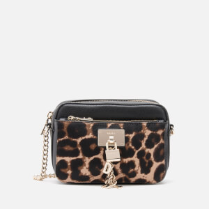 DKNY Women's Elissa Camera Bag - Leopard