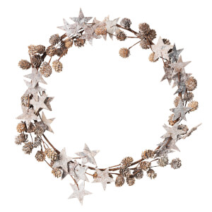 Broste Copenhagen Decorative Wreath - Natural