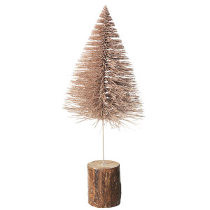 Broste Copenhagen Decorative Tree - Large - Champagne