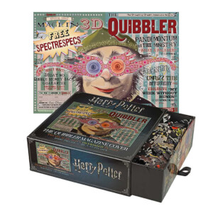 Harry Potter The Quibbler Magazine 1,000 Piece Jigsaw Puzzle