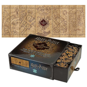 Harry Potter Puzzle Carte du Maraudeur 1000 pièces - Noble Collection