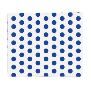 Blue Spots Fleece Blanket