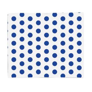 Blue Spots Fleece Blanket