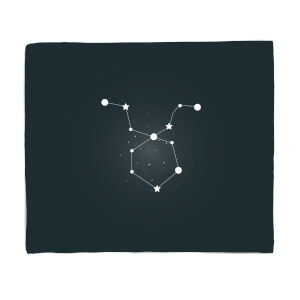 Taurus Star Sign Fleece Blanket