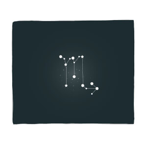 Scorpio Star Sign Fleece Blanket