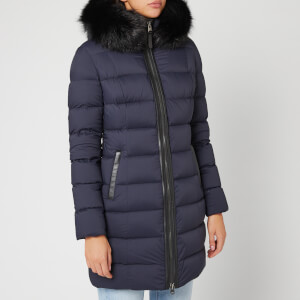 Mackage Women's Calla Matte Padded Parka - Navy