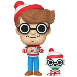 Where's Waldo Waldo with Woof EXC Pop! Vinyl Figure