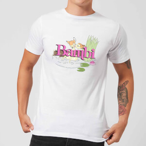 Disney Bambi Kiss Men's T-Shirt - White