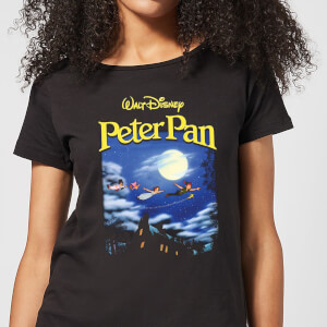 Disney Peter Pan Cover Women's T-Shirt - Black