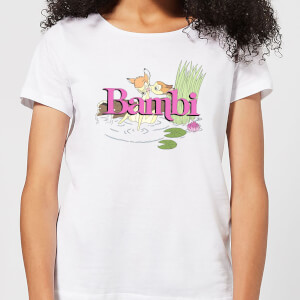 Disney Bambi Kiss Women's T-Shirt - White