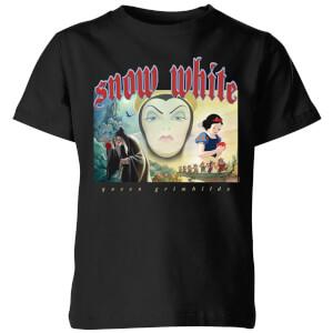 Disney Snow White And Queen Grimhilde Kids' T-Shirt - Black
