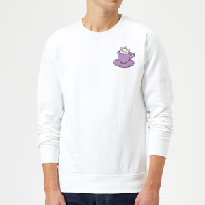 Disney Aristocats Marie Teacup Sweatshirt - White