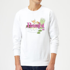 Disney Bambi Kiss Sweatshirt - White