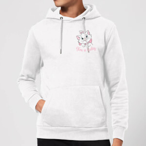 Disney Aristocats Marie I'm A Lady Hoodie - White