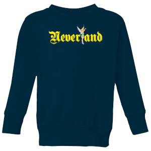 Disney Peter Pan Tinkerbell Neverland Kids' Sweatshirt - Navy
