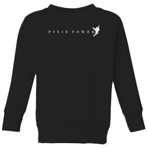 Disney Peter Pan Tinkerbell Pixie Power Kids' Sweatshirt - Black