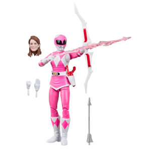 Hasbro Power Rangers Lightning Collection Mighty Morphin Pink Ranger Figure