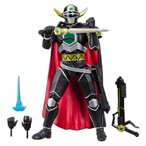 Statuetta di Magna Defender da Lost Galaxy, serie Power Rangers Lightning Collection, Hasbro