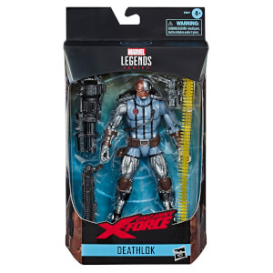 Figurine de collection articulée Deathlok (15 cm), Marvel Legends Series – Hasbro