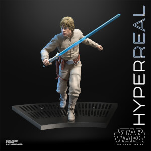 Figurine articulée Luke Skywalker (20 cm), Star Wars The Black Series Hyperreal – Hasbro
