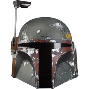 Star Wars The Black Series, Casque électronique premium de Boba Fett