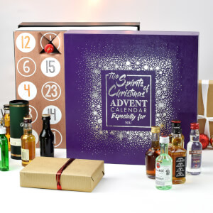The Spirits of Christmas Advent Calendar - Alcohol Miniatures