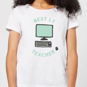 Best I.T Teacher Women's T-Shirt - White
