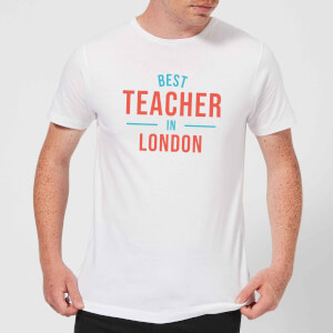 Best Teacher In London Men's T-Shirt - White