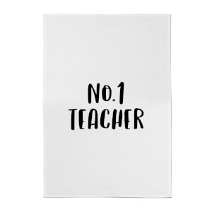 No.1 Teacher Cotton Tea Towel