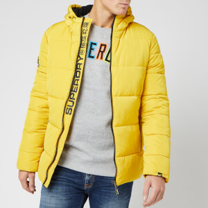 Superdry Men's Sports Puffer Jacket - Sulphur