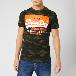 Superdry Men's Premium Goods Camo T-Shirt - Green Camo