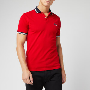 Superdry Men's Classic Lite Micro Sports Polo Shirt - Rouge Red