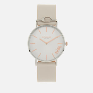 Coach Women's Perry Leather Strap Watch - Rou SWH