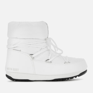 Moon Boot Women's Low Nylon Waterproof 2 Boots - White