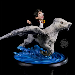 Harry and Buckbeak Q-Fig MAX Diorama