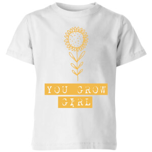 You Grow Girl Kids' T-Shirt - White