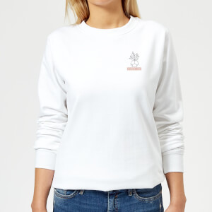 Pocket Succ It Women's Sweatshirt - White