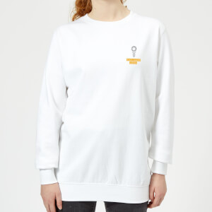 Pocket You Grow Girl Women's Sweatshirt - White